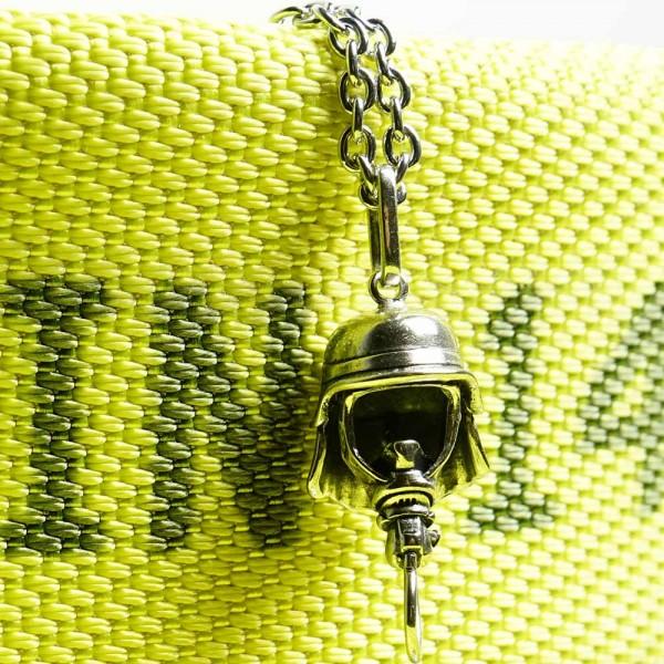 """Premium Collection 925er Silberkette + Silberanhänger - Modell """"AGT"""" Deutschland Edition"""