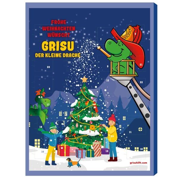 Grisu hilft! Feuerwehr Adventskalender 2021 mit 0,50€ Spende
