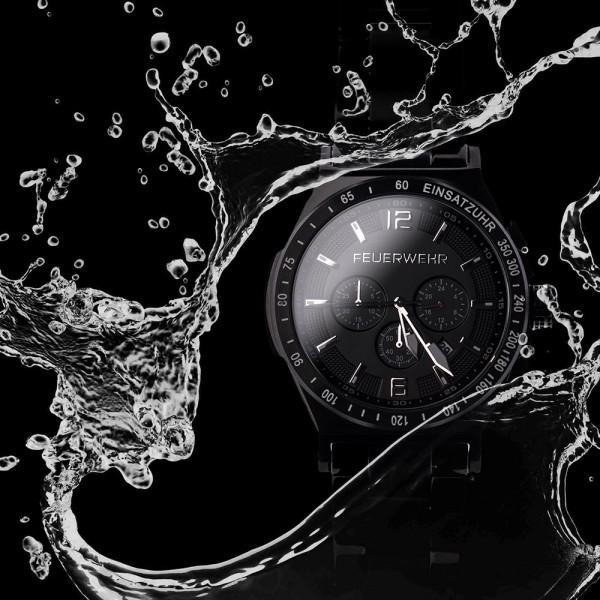Einsatz Chronograph - BLACKSTEEL LIMITED