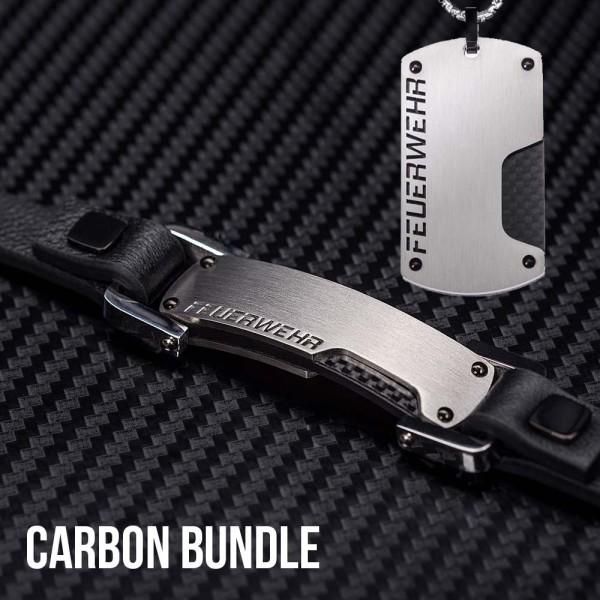 AKTION: CARBON Halskette & Armband zum Vorteilspreis